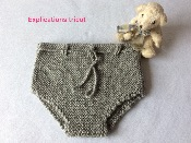 Explications tricot culotte layette